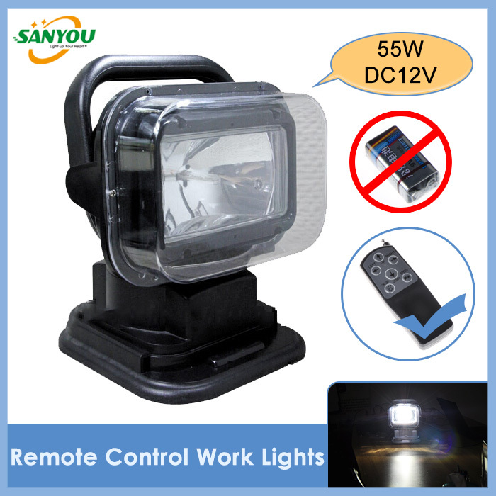 DC 12V 55W spotlight Fish Hunting Work Light Offroad Vehicle HID Xenon Lamp Car Truck Jeep Replace HID Worklight 2009<br><br>Aliexpress
