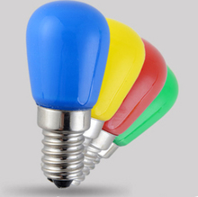 12V LED color red green blue yellow bulb lights decorative indoor outdoor atmosphere of colorful lights(China (Mainland))