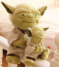 The green monster Star Wars Wise old man yoda Doll whimsy Rag Doll Children birthday gift