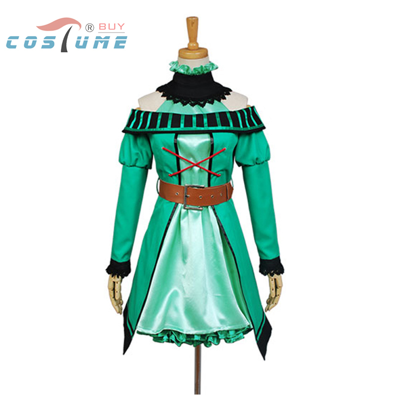 Vocaloid Project DIVA-F 2nd Miku Uniform Green Dress Jacket Outfit Anime Halloween Cosplay Costumes For Women Custom MadeОдежда и ак�е��уары<br><br><br>Aliexpress