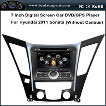 Car DVD Audio Video Player For Hyundai Sonata 2011 With GPS Radio BT Support DVR Free Map without canbus function
