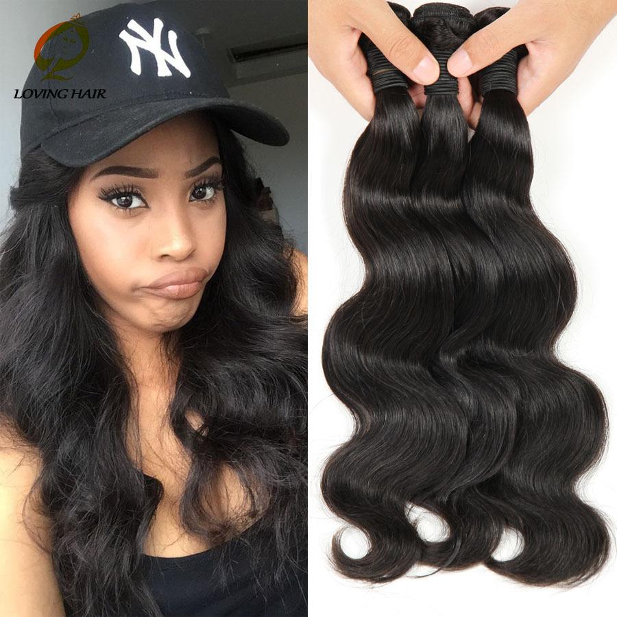 Гаджет  Hot! 6A Brazilian Virgin Hair Body Wave Brazilian Three Tone 3pcs 1b #4 #27 Ombre Hair Extensions Human hair weave Free Shipping None Волосы и аксессуары