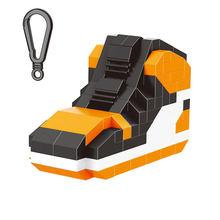 2018 new arrive hot sale balody Creator Keychain Building Blocks sport shoe Bricks Kids Mod Christmas Toy for Children gifts(China)