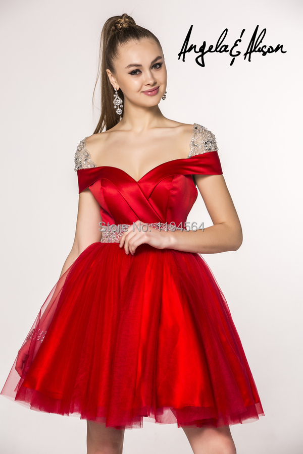 High Quality Red Cocktail Dresses-Buy Cheap Red Cocktail Dresses ...