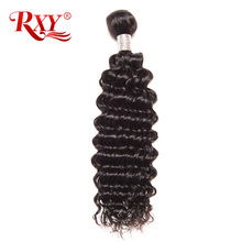 Buy RXY Deep Wave Brazilian Hair Weave Bundles Human Hair Weaving Remy Hair Bundles Natural Color Can Permed 10-28 Inch for $18.89 in AliExpress store