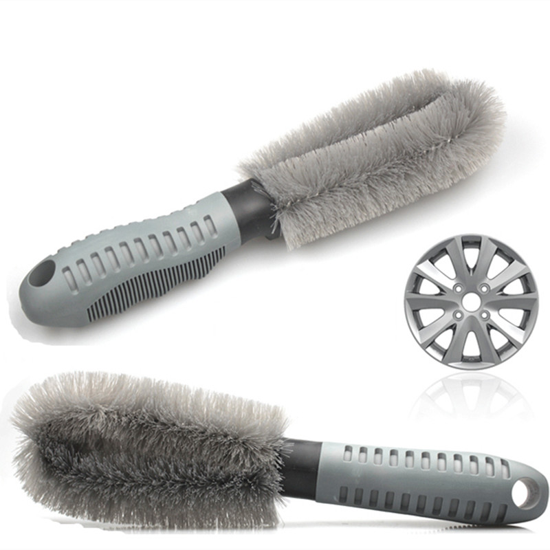 New Product Car Vehicle Motorcycle Wheel Brush Cleaning Tool Cleaner Used Convenient Household Essential(China (Mainland))