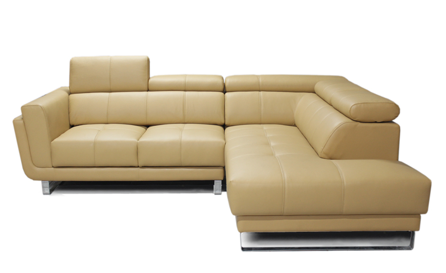 Free shipping 2013 latest italy design genuine leather l shaped corner sofa removable seater - Sofa gratis ...