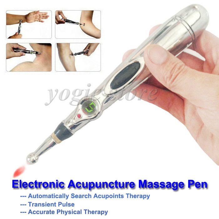 Energy Meridian Pen Electronic Acupuncture Pen Meridians Pain Therapy Face Body Acupoint Point Massage Health Care