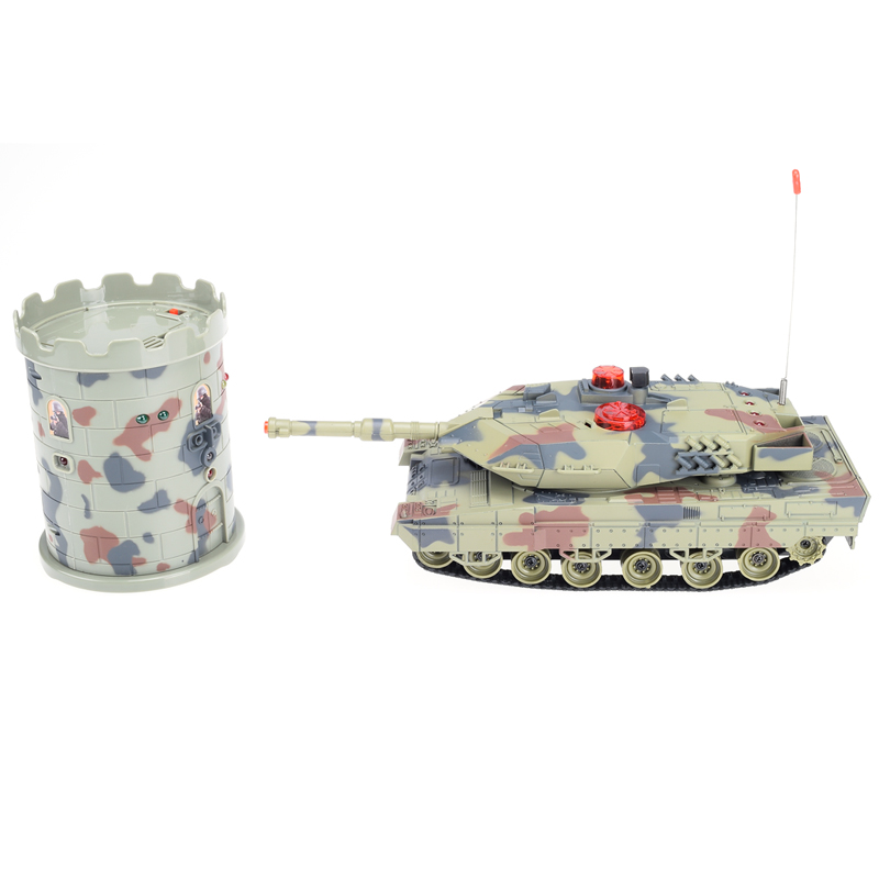 2015 Hot HuanQi 500 RC Tank Battle Turret Fight With The Fort Remote Control Toys <br><br>Aliexpress