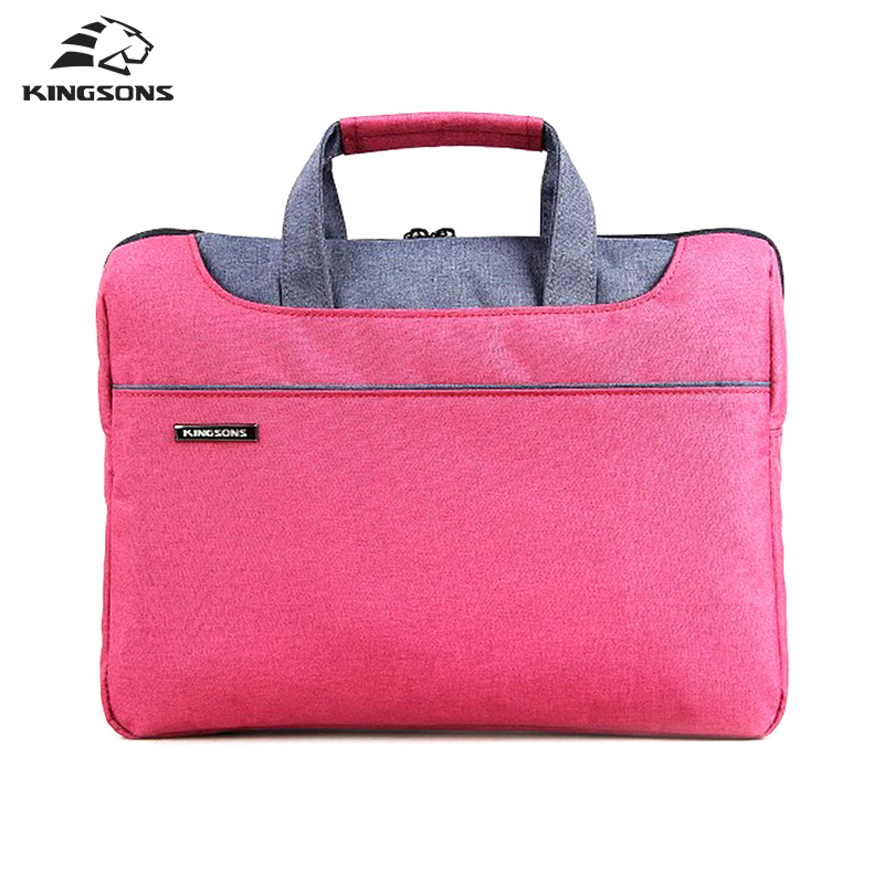 Kingsons Men and Women Laptop Handbag Notebook Computer Sleeve Bags Carrying Office Bussiness Preferred Travel Tote(China (Mainland))