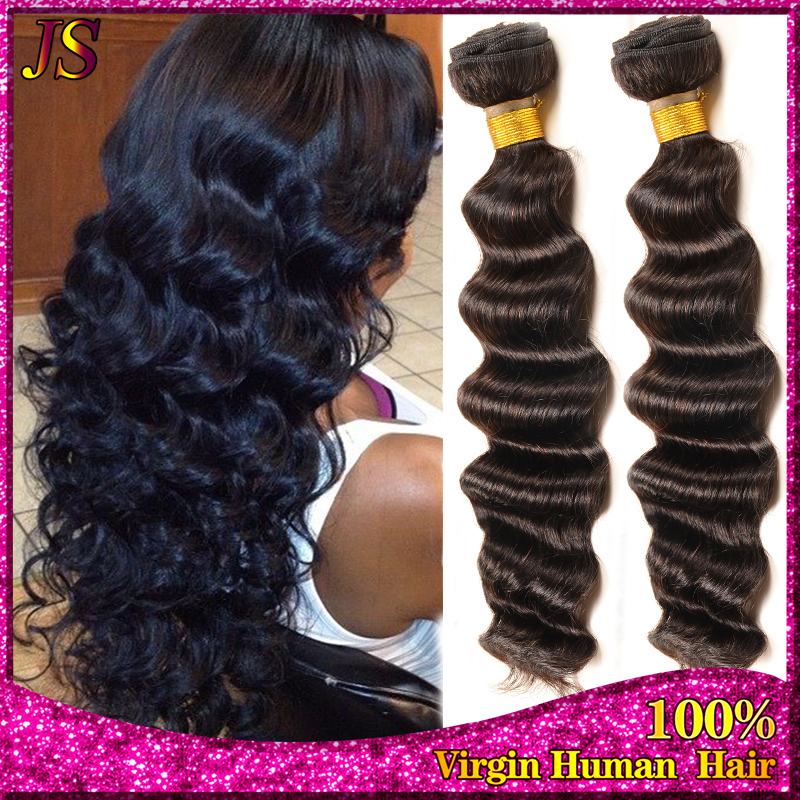 Best Quality Queen Weave Beauty Malaysian Virgin Hair Deep Wave 4 pcs lot Cheap Mario Curly Human Hair Weave Remy Hair Extension<br><br>Aliexpress