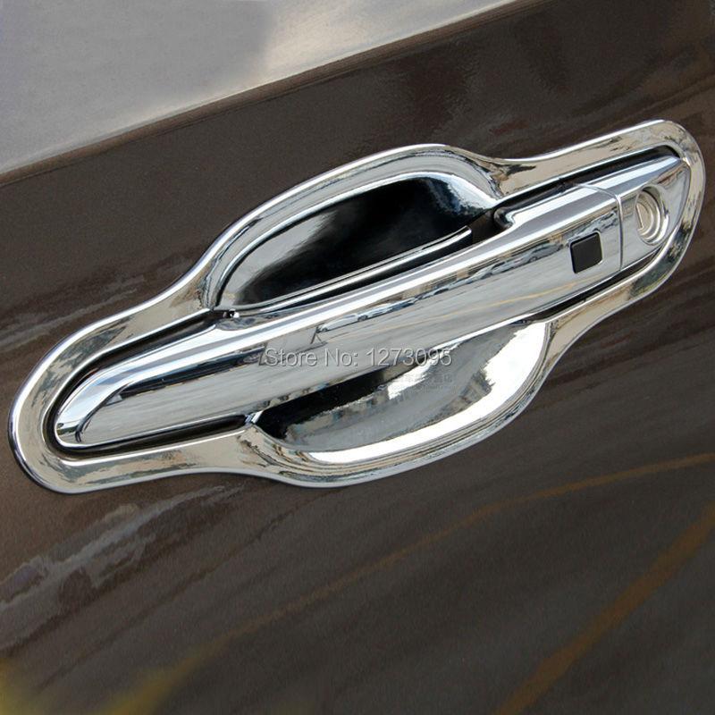 2018 For 2016 Hyundai Tucson Abs Chrome Car Door Handles Cover Bowl ...
