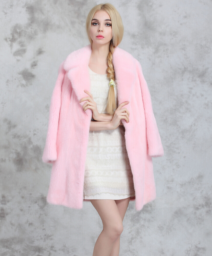 Online Buy Wholesale pink mink coat from China pink mink ...
