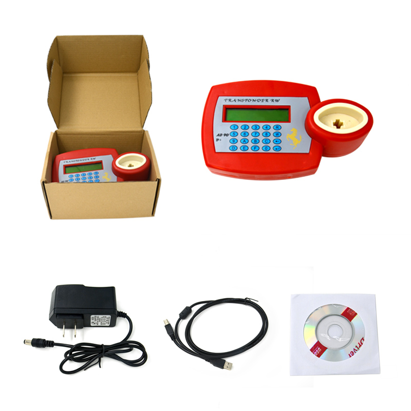 2016 Most Powerful and Professinal The cheapest and best quality AD90 Transponder Key Duplicator Plus AD90 key programmer DHL(China (Mainland))