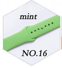 Мягкий силиконовый замена спортивный ремешок для Apple Watch Series 1/2/3 42 мм 38 мм запястье браслет ремешок для iWatch 4 40 мм 44 мм спортивные(China)