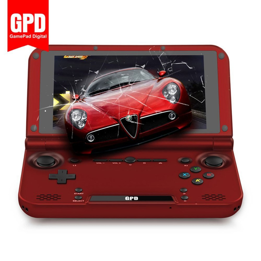Hot! 5 Inch Android4.4 2GB/64GB GPD XD Quad Core IPS Handheld Video Game Player Gamepad Handheld Game Console D3462C Wholesale(China (Mainland))