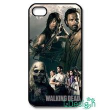 Fit for iphone 4 4s 5 5s 5c se 6 6s plus ipod touch 4/5/6 back skins cellphone case cover The Walking Dead Cool