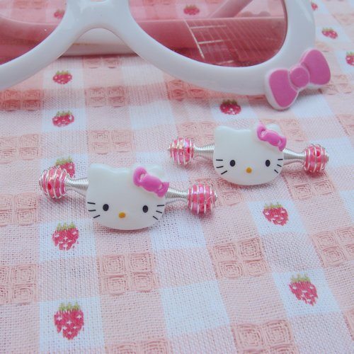 Min order 7$ (can mix order) 3pcs fashion cute hello kitty Baby accessories children Girls hair clip Lala hairpin Ornaments(China (Mainland))
