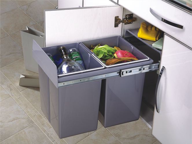 Kitchen recycling bins promotion shop for promotional for Papelera reciclaje ikea
