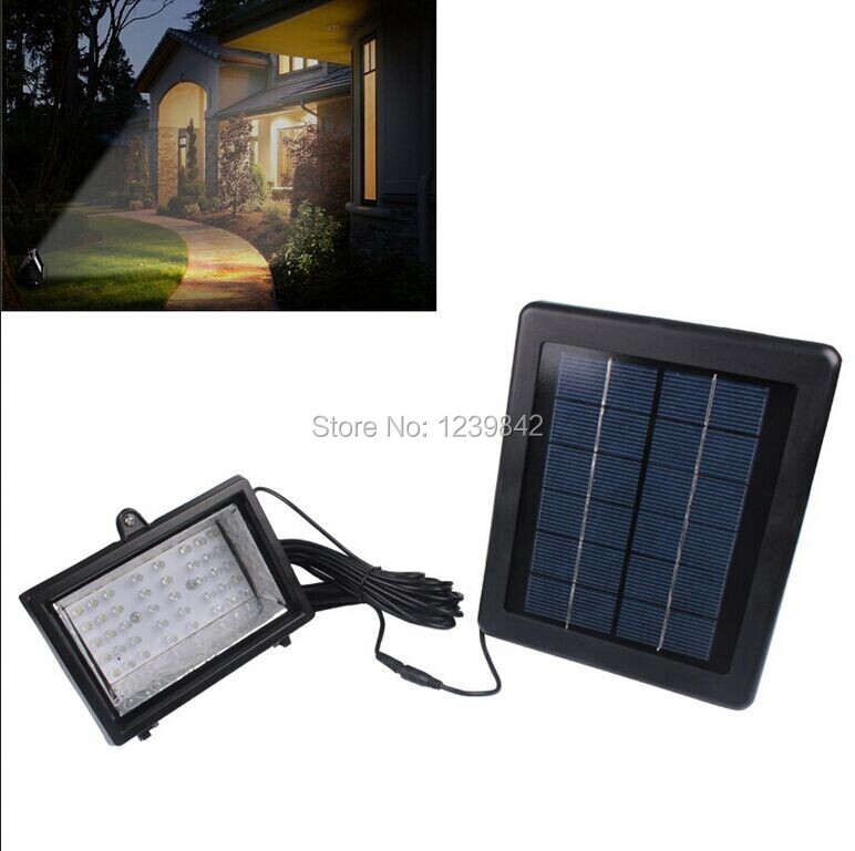 iluminacao jardim led solarImpermeável 40 LED Solar jardim lâmpada