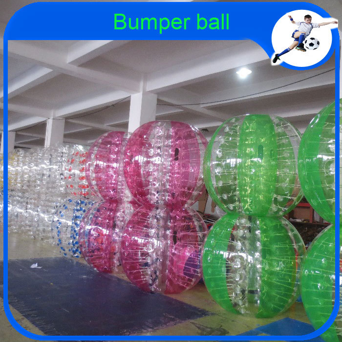 CE PVC 1.2m 1.5m 1.7M Bubble Soccer Ball In Garden Inflatable Body Zorb/Zorbing Bumper Ball(China (Mainland))