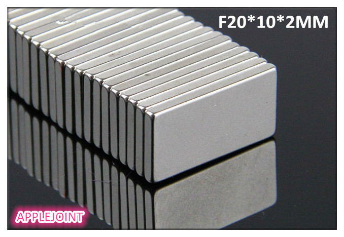 Free Shipping 30 pcs N35 powerful  Block Cuboid Magnets Rare Earth Neodymium 20 x 10 x 2 mm wholesales new arrival<br><br>Aliexpress