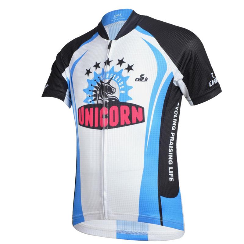 Che ji New 2015 Hot Sale Boys Cycling Jersey Short Sleeve Open Zipper Breathable Quick Dry Anti-sweat CYSS1699(China (Mainland))