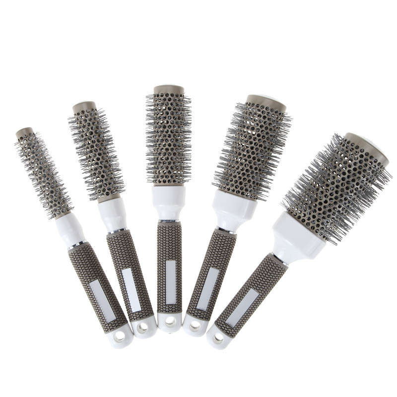19mm-25mm-32mm-45mm-53mm-Ceramic-Iron-Radial-Roll-Round-Comb-Hair-Dressing-Brush-Pro-hair
