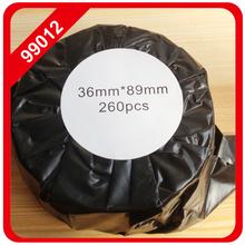 10x Rolle SEIKO DYMO 400 450 Duo Twin Turbo 99012 36 x 89 mm Label dymo labels 99012 etiquetas