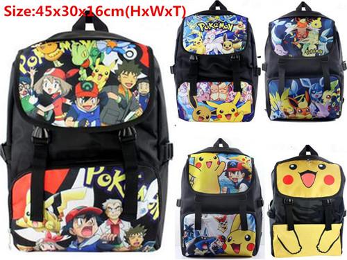 font b Pokemon b font font b GO b font Pikachu EEVEE Cosplay Backpack Shoulderbag