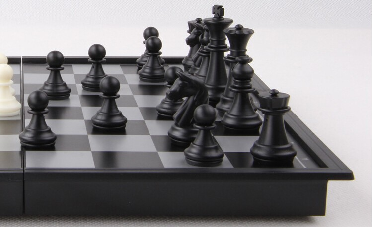Гаджет  Free Shipping Chess Set Top Quality Wooden Chess Pieces Folding Board Set magnetic chessman- Travel Home board game Collection None Спорт и развлечения
