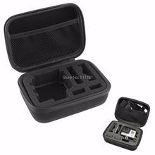 Gopro Accessories Portable Small Storage Camera Bag Gopro Case for Gopro Hero 4 3+ Xiaomi Yi Action Camera SJ4000 SJ5000 SJ7000(China (Mainland))