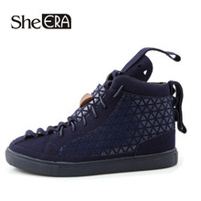 Hot sales! 2016 Spring Fashion Men Shoes GZ brand Shoes Woman High Top Metal sequins Mens Casual shoes Free shipping(China (Mainland))