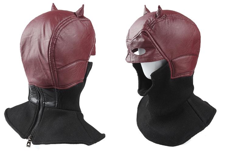 2016 Movie Superhero Daredevil Helmet Daredevil Cosplay Costume Halloween Cosplay Mask Carnaval Costume