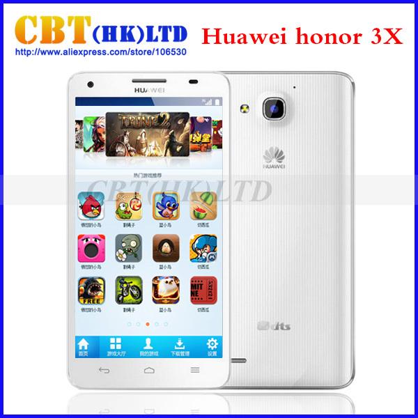 """Original HUAWEI Honor 3x Pro G750 T20 Multi-language MTK6592 Octa-core 1.7G Dual-SIM WCDMA 5.5""""HD IPS 2G RAM+8GB ROM In stock(Hong Kong)"""