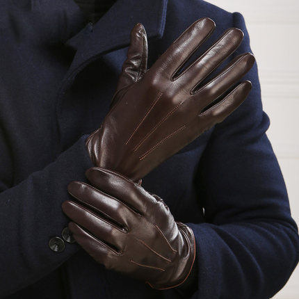 Leather Gloves For Men Winter Leather Gloves Men Warmth