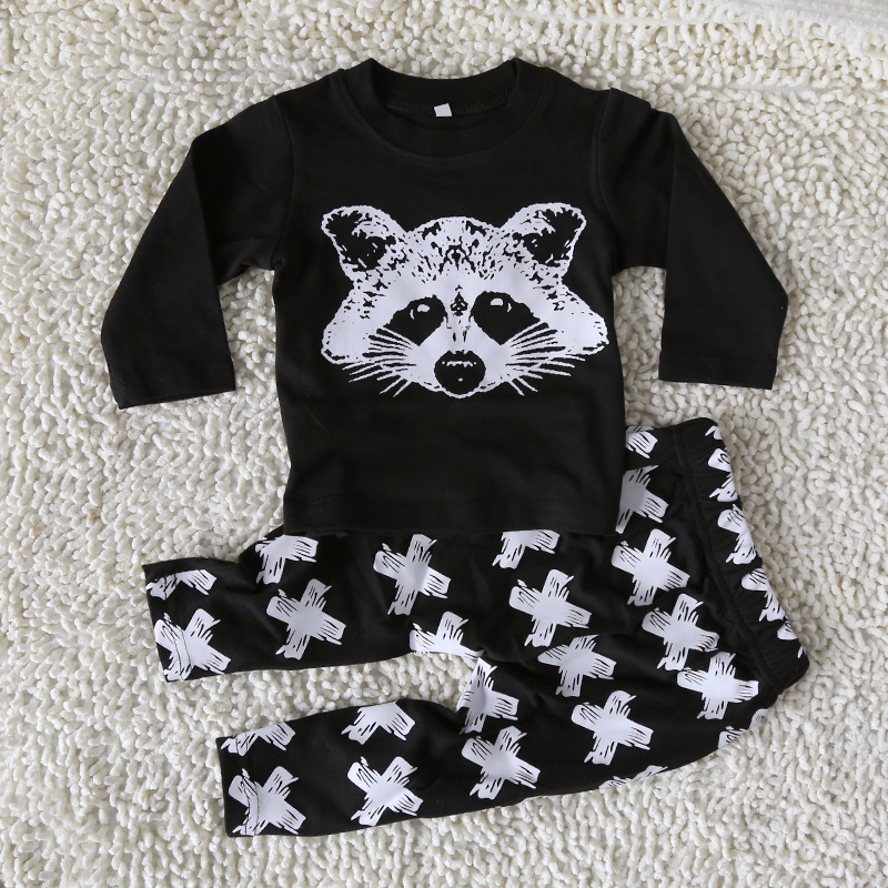New autumn leisure long sleeve baby boy clothes define children cloth suit top T shirt + pants children high quality Baby suit(China (Mainland))