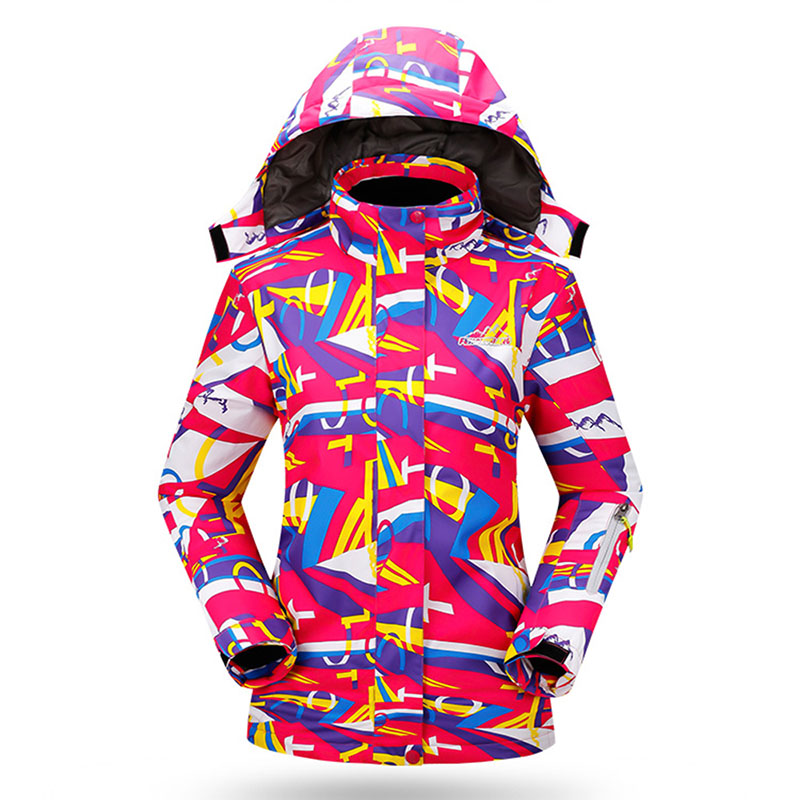 Hot Sale Women's Winter Ski Suit Sport Outdoor Jacket Snowboard Female Insulated Snow Jacket Ladies Skating Coats(China (Mainland))
