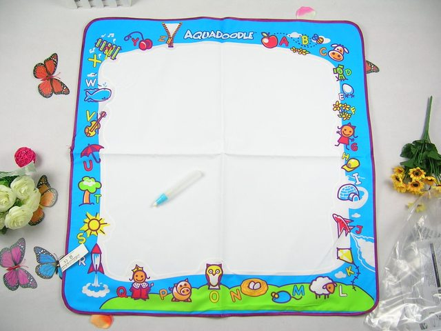 Promotional 20% discount /Free shipping  American Aquadoodle Aqua Doodle Drawing Mat&1 Magic Pen/Water Drawing Replacement Mat