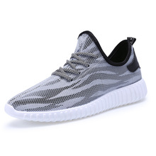 Men Designer Casual Shoes Yeezy Casual Male Breathable Cotton Outdoor Mesh Air Walking Superstar Trainers Shoes S052310(China (Mainland))