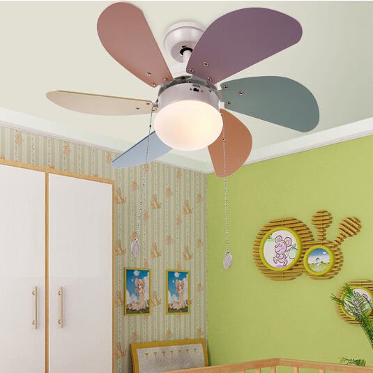 Comceiling Fans For Kids Rooms : modern CEILING fans with light for kids room Ceiling 110 240V FAN ...