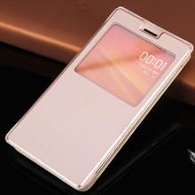 Slim View Original Back Battery Housing Leather Case Flip Cover Shell Holster For Xiaomi Redmi 2 Hongmi 2 Red Rice 2