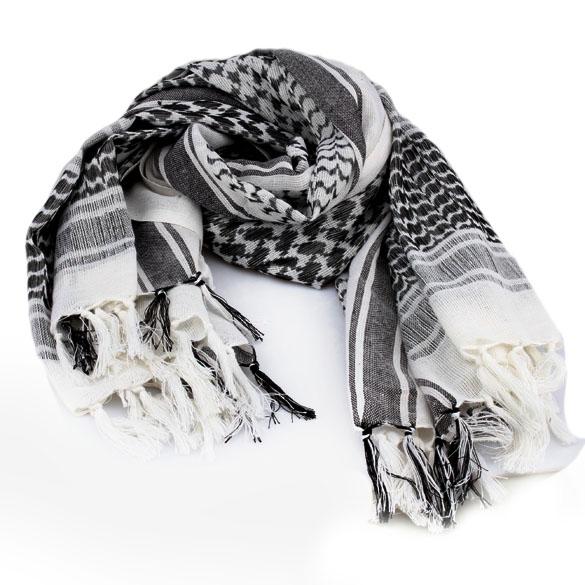 Arab Hood White Authentic Arab Unisex Shemagh Fashion Head Scarves Hair Hood TH88(China (Mainland))