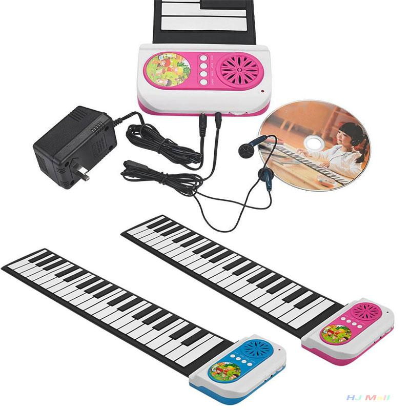 37 Key Roll-up Portable Digital Electronic Soft MIDI Keyboard Piano Children Toy(China (Mainland))