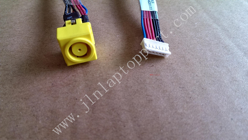 AC DC Power Jack Cable Connector Socket For Lenovo T530(China (Mainland))