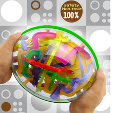 3D Ball Maze Perplexus Ball Puzzle Board Game ,Magical Intellect Ball ,Intelligence Educational For Children 299 Barrier(China (Mainland))