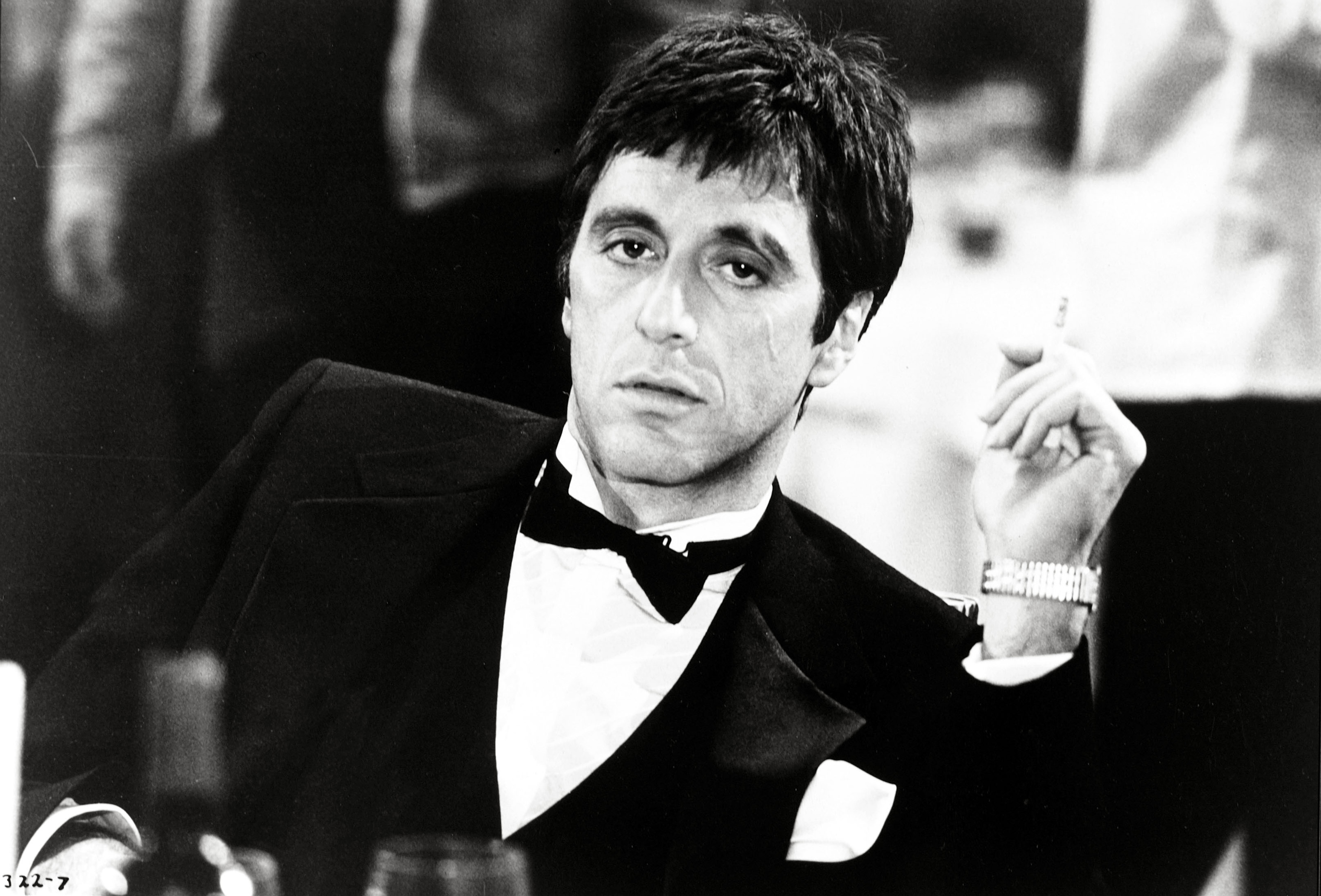 Scarface movie poster al pacino gangster drugs brian de for Occhiali al pacino scarface