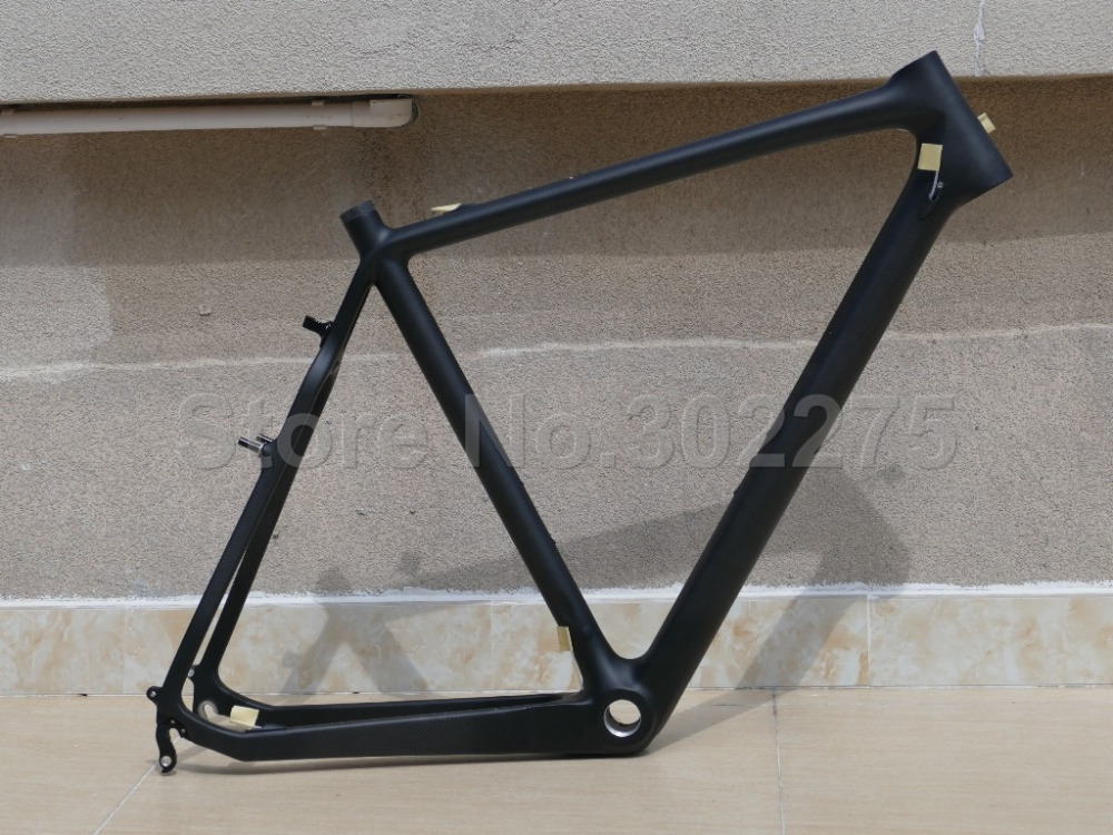 601# Full Carbon Cyclocross Cross Bike V-brake Bicycle Frame - Frame Only(China (Mainland))