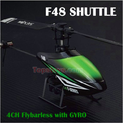 Фотография Free shipping new style MJX rc Helicopter F48 with Single Blade Aileronless 2.4Ghz Remote Control Rc Plane with Gyro