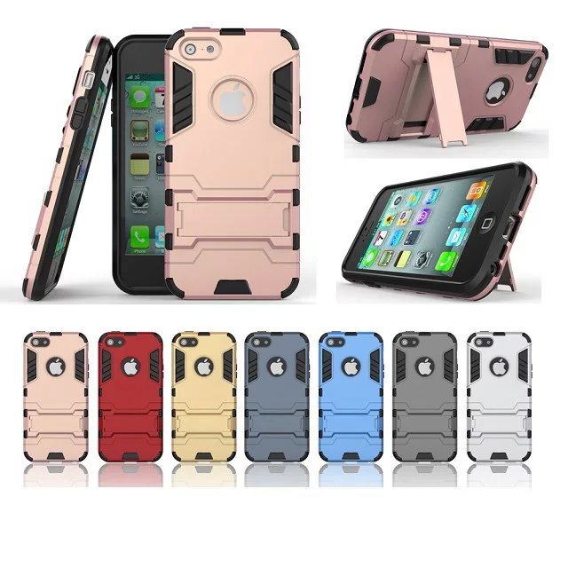 Fashion assembly case for iphone 5 5s case,Transformer series Support hold function back cover for iphone SE 5C Ultrathin(China (Mainland))